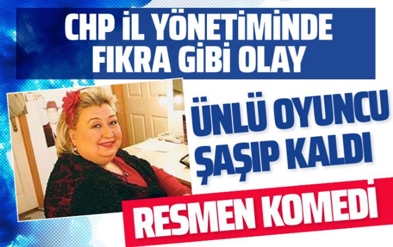 Çocuklar Duymasın'ın oyuncusu Gülnihal Demir şoke oldu! CHP Muğla'da fıkra gibi olay!
