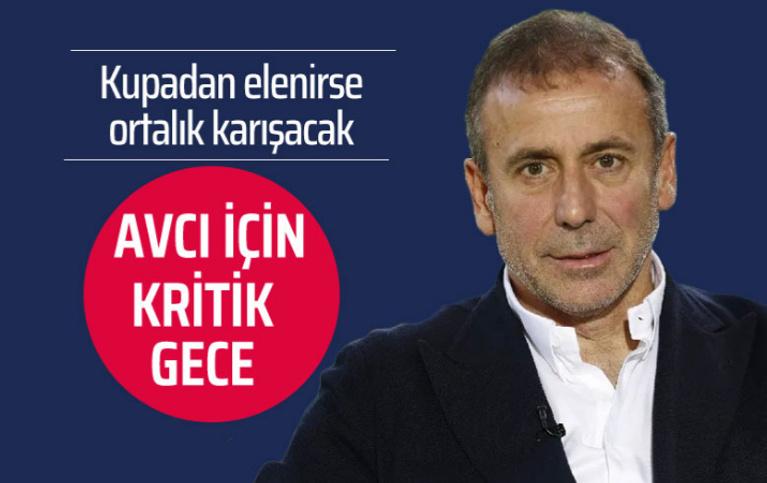 Beşiktaş kupadan elenirse ortalık karışacak Abdullah Avcı'nın kalemi kırılabilir