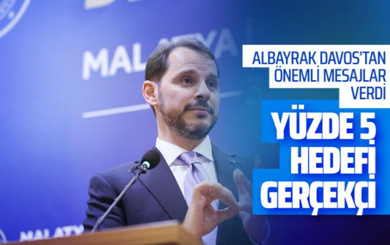 Berat Albayrak'tan ekonomik büyüme açıklaması! Yüzde 5 hedefimiz gerçekçi