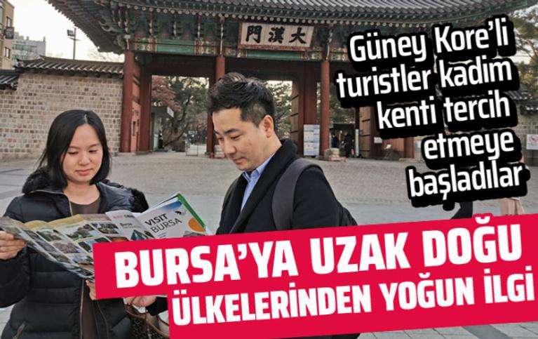 Koreli turizmciler Bursa'yı mercek altına aldı! Yoğun ilgi gösteriliyor