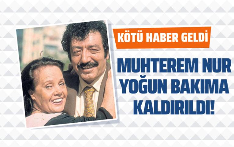 Müslüm Gürses'in eşi Muhterem Nur'dan kötü haber! Yoğun bakıma kaldırıldı