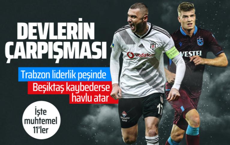 Beşiktaş Trabzonspor maçı canlı yayını saat kaçta hangi kanalda