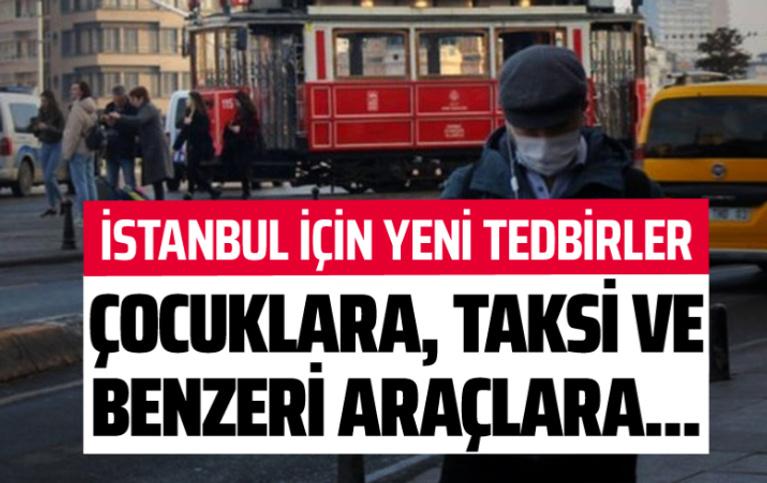 İstanbul'da koronavirüs kapsamında yeni yasaklar