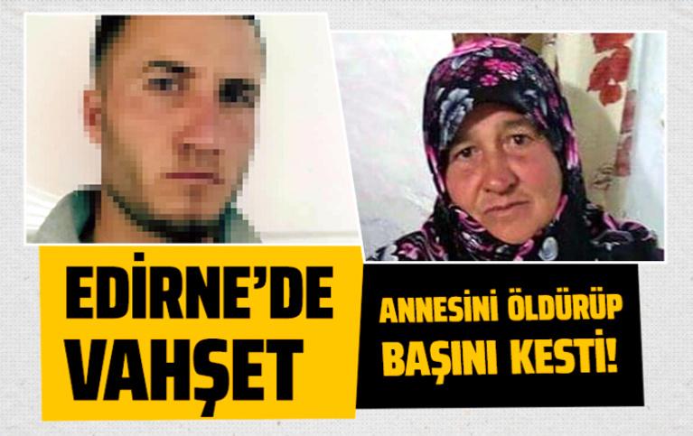 Edirne'de kayıp kadın boğazı kesilerek öldürülmüş olarak bulundu