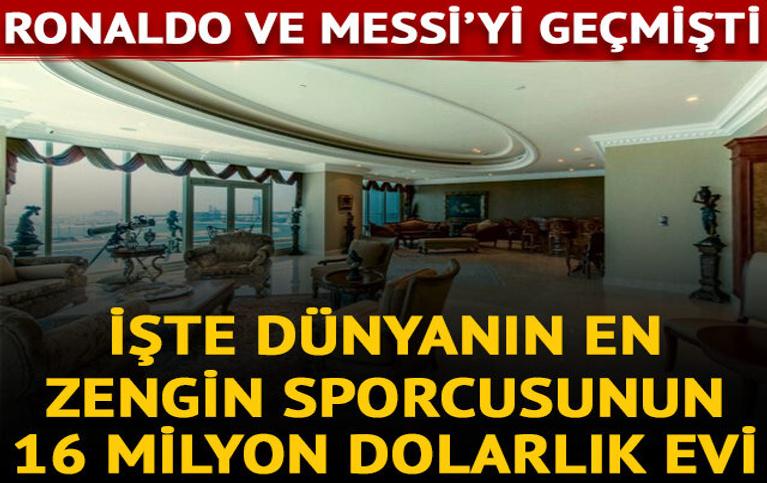 İşte dünyanın en zengin sporcusunun lüks dairesi