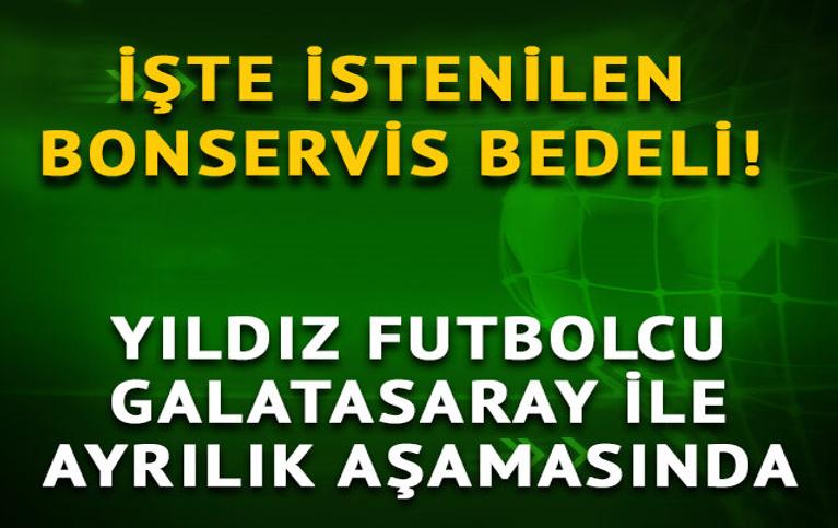 Yıldız isim Galatasaray'dan ayrılıyor