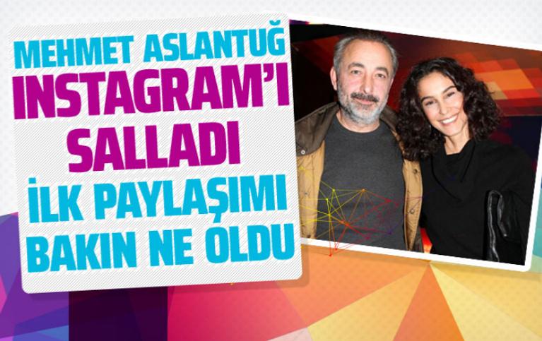 Mehmet Aslantuğ Instagram açtı ilk paylaşımı yaptı Arzum Onan da duyurdu