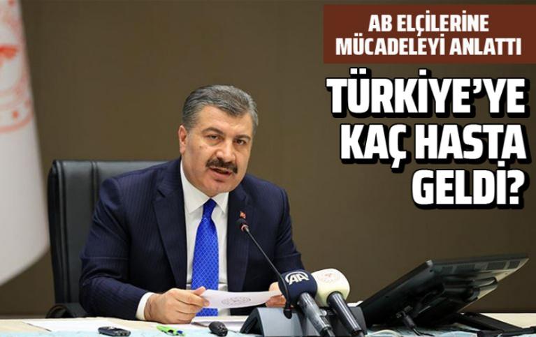 Bakan Koca: Türkiye sağlık alanında da AB'ye büyük güç katacak