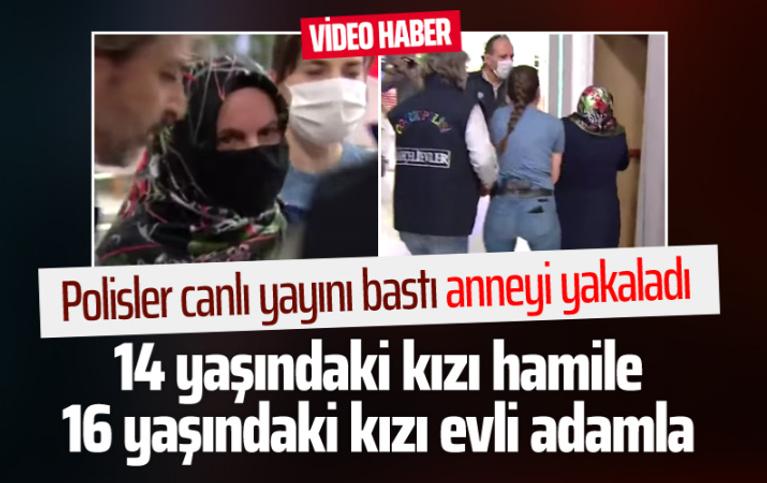 14 yaşındaki kızı hamile çıkan anne Esra Erol'da yakalandı
