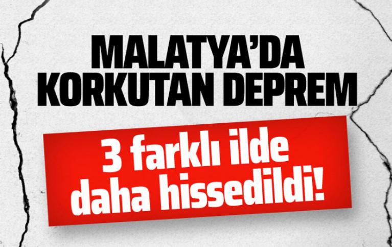 Malatya'da deprem oldu! Kandili ve AFAD büyüklüğünü açıkladı