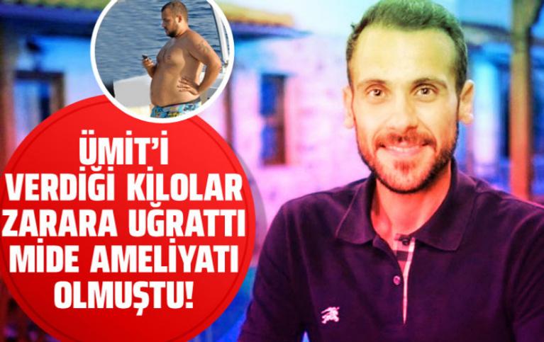Ümit Erdim 60 kilo verince başı belaya girdi zayıflamanın zararı bakın ne oldu