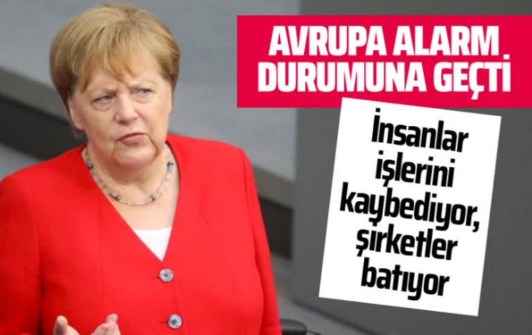Merkel'den Avrupa için tarihi itiraf