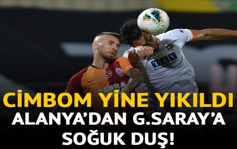 Galatasaray'a bir darbe de Alanya'dan