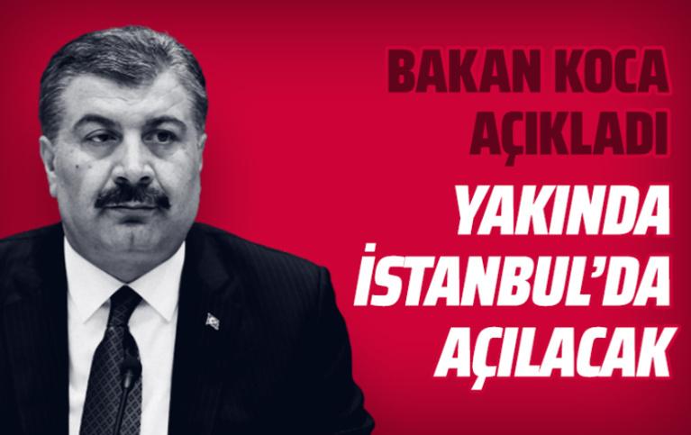 Bakan Koca açıkladı: DSÖ Ofisi'ni hızla İstanbul'da hayata geçiriyoruz