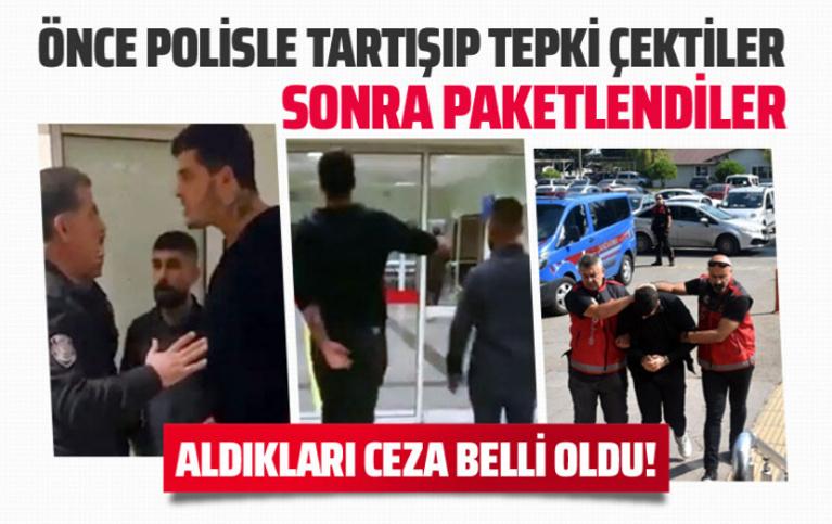 Balıkesir'de polise mukavemette bulunan zorbaların cezaları belli oldu!