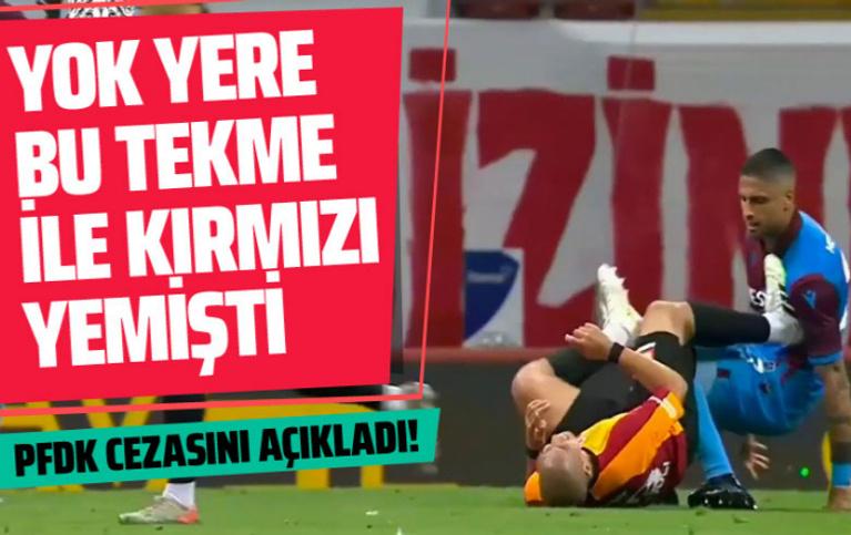PFDK, Galatasaraylı Sofiane Feghouli'ye 2 maç ceza verdi