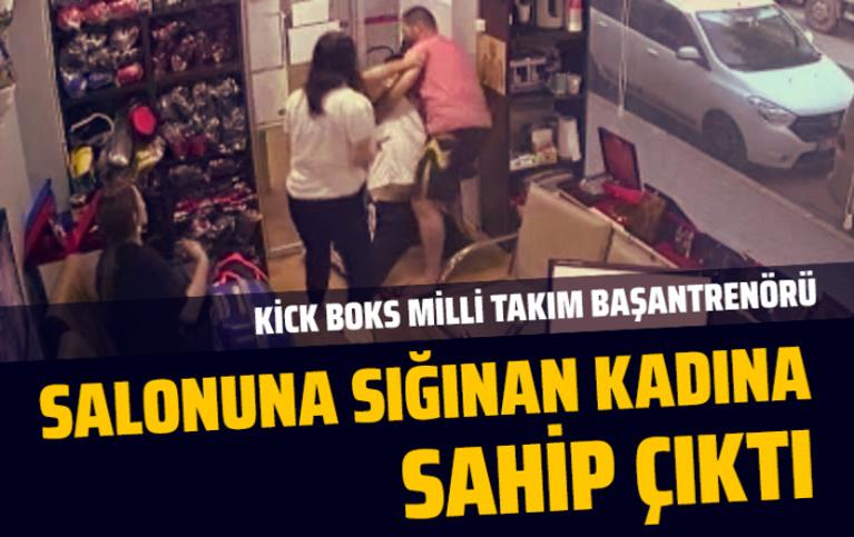 İstanbul Bağcılar'da milli antrenör salonuna sığınan kadına böyle sahip çıktı