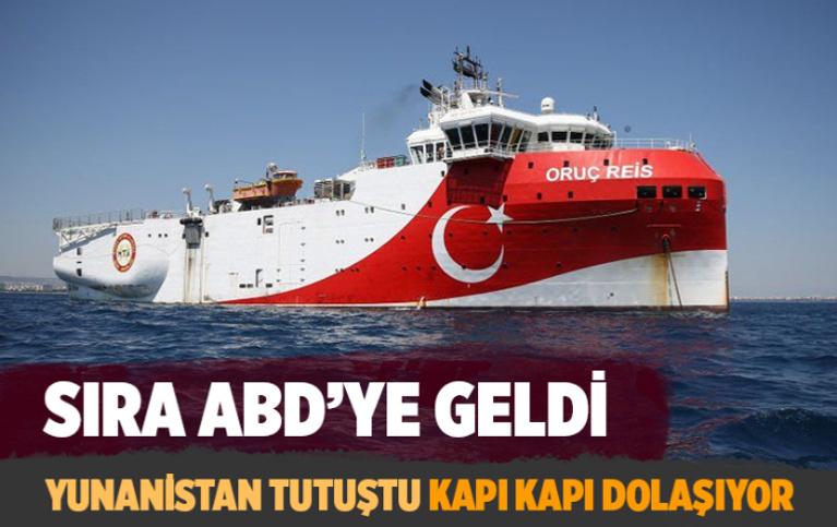 Yunanistan Doğu Akdeniz için ABD'den medet umuyor