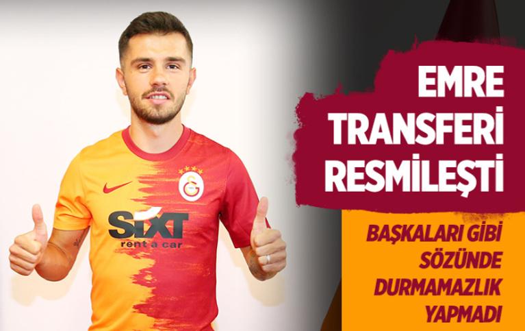 Emre Kılınç 4 yıllığına Galatasaray'da