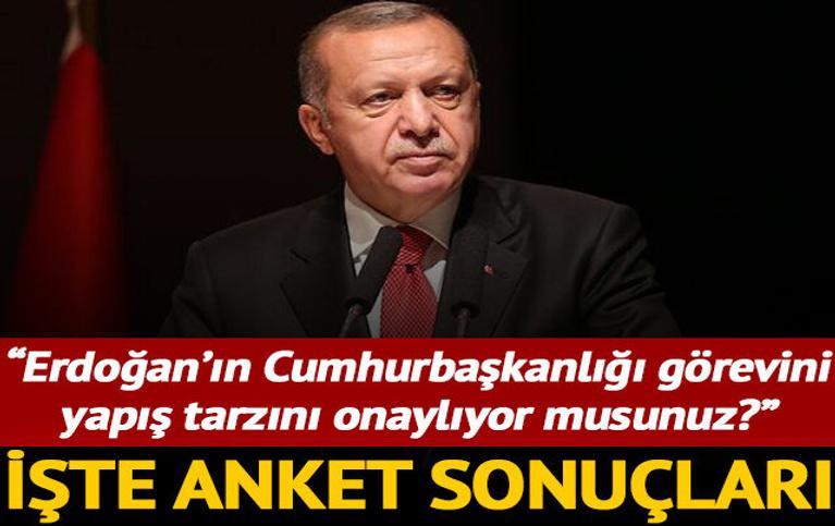 MetroPOLL Araştırma: Erdoğan'ın görev onayı yüzde 50.6