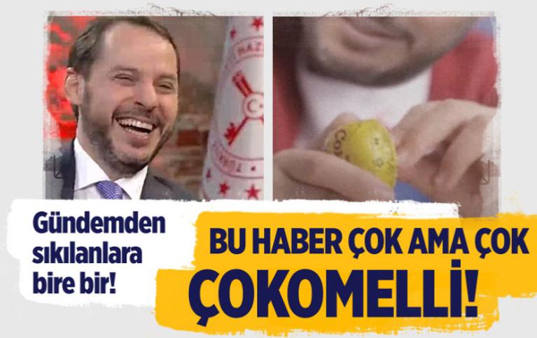 Ahmet Hakan, Berat Albayrak'a çokomelli esprilerini sordu