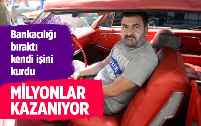 Bankacılığı bıraktı Adana'da kendi işini kurdu! Şimdi milyonlara oynuyor