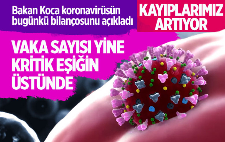 Türkiye'deki corona virüsü vaka ve ölü sayısında son durum (25 Eylül 2020)