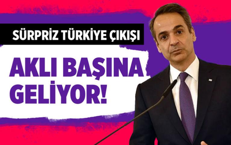 Miçotakis'ten sürpriz Türkiye çıkışı