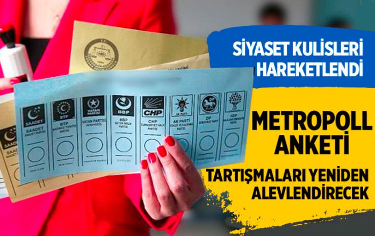 MetroPOLL'den tartışmaları alevlendirecek anket! 'Politikacılara yol gösterici olabilir'