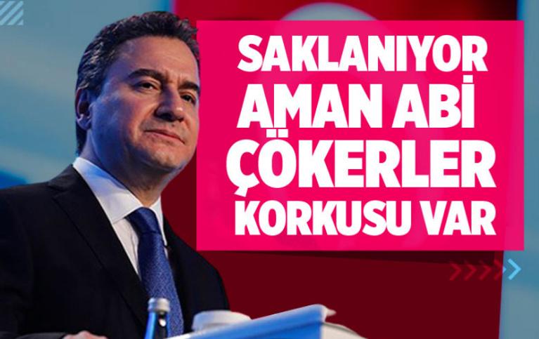 DEVA Partisi Genel Başkanı Ali Babacan: Vergi rekortmenleri saklanıyor, 'aman abi çökerler' korkusu var