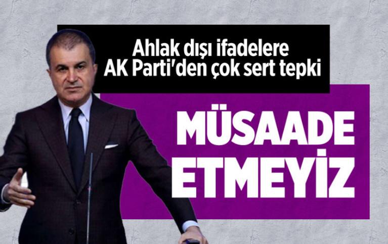 AK Parti Sözcüsü Ömer Çelik'ten CHP'ye 'militan' tepkisi