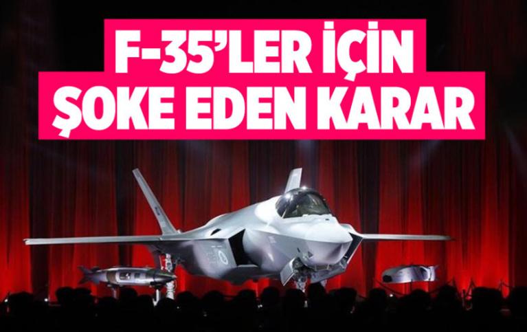 Hollanda'da F-35 uçuşları durduruldu