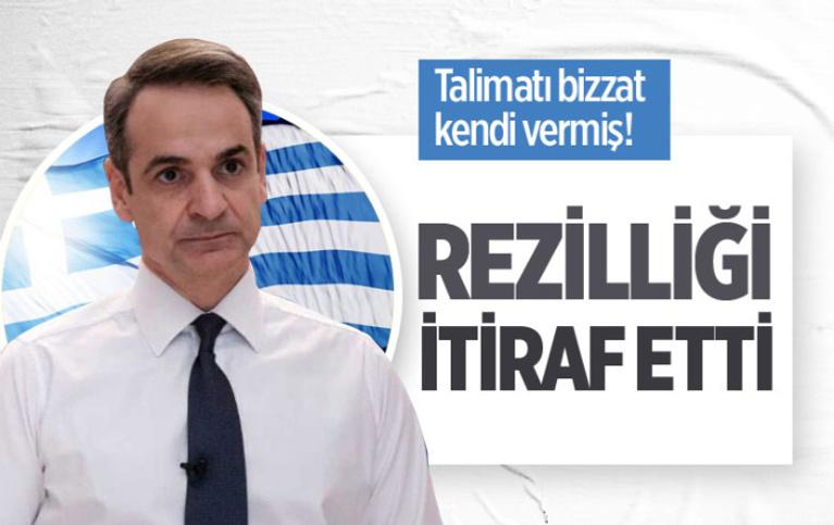 Yunan Başbakan Kiryakos Miçotakis'ten Türkiye itirafı