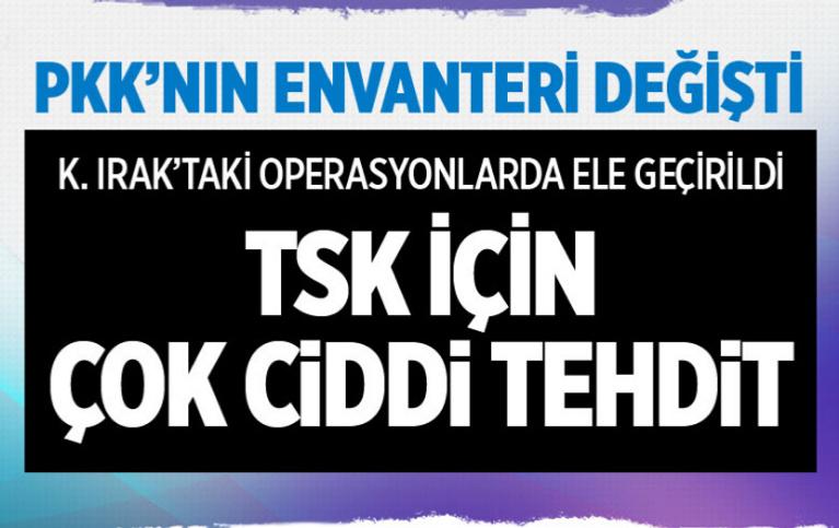 PKK'nın envanteri tehlikeli boyutlara ulaştı iki SA-16 MANPADS çok ciddi bir tehdit