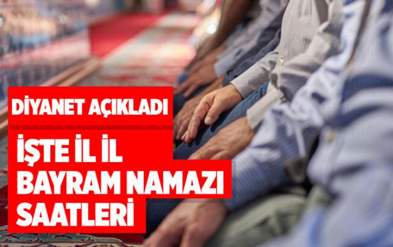 Bayram namazı saatleri! İşte İstanbul, Ankara, İzmir ve diğer illerde bayram namazı vakitleri