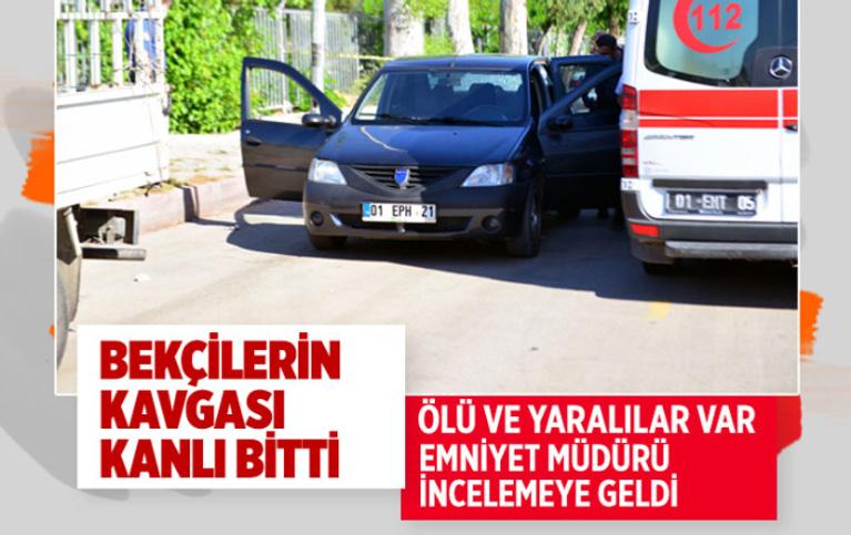 Adana'da bekçilerin borç kavgası kanlı bitti! Meslektaşını vurdu 1 kişiyi öldürüp intihar etti
