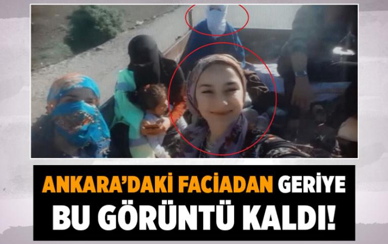Ankara'da traktör kazasında ölen 4 kişinin römorktaki görüntüleri ortaya çıktı