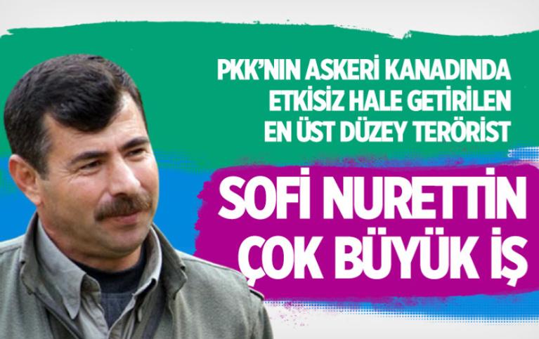 Sofi Nurettin kimdir? Bu çok büyük iş PKK'ın askeri kanadındaki en üst düzey terörist