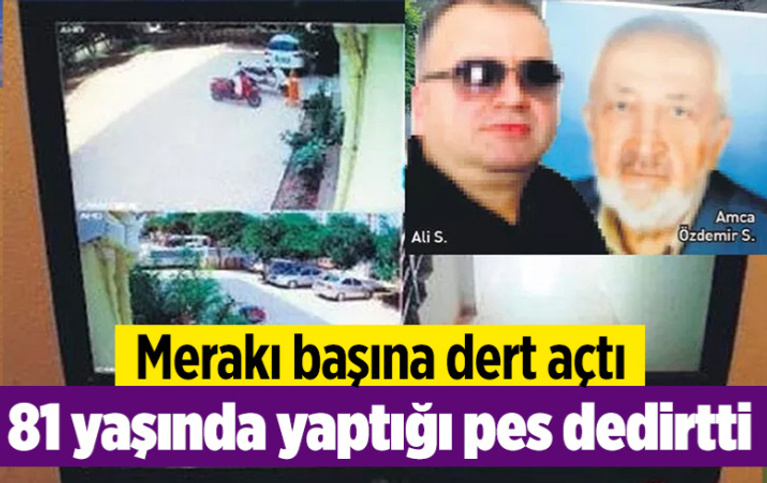 İstanbul'da merakı başına dert açtı! 81 yaşında yaptığı pes dedirtti