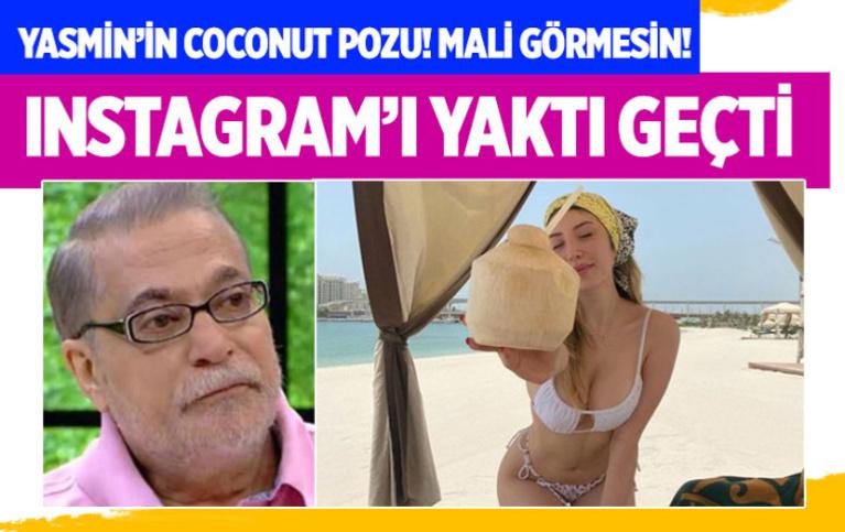 Mehmet Ali Erbil'in kızı Yasmin'den Dubai çıkarması! Olay bikinili pozlar İnstagram'ı salladı