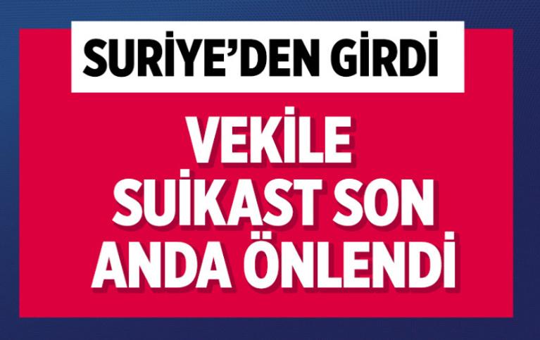 AK Partili vekile suikast hazırlığındaki PKK'lı terörist son anda yakalandı