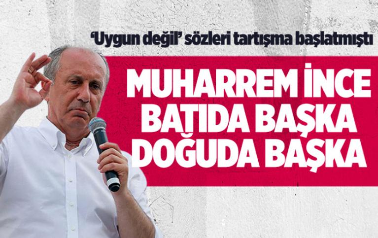 Muharrem İnce'den Ağrı'da 'Kürtçe' açıklaması! Bu kez başka konuştu
