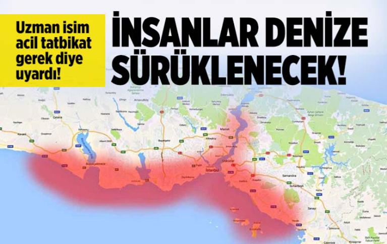 Prof. Oruç korkutan İstanbul depreminde olacakları açıkladı! İnsanlar denize sürüklenecek...