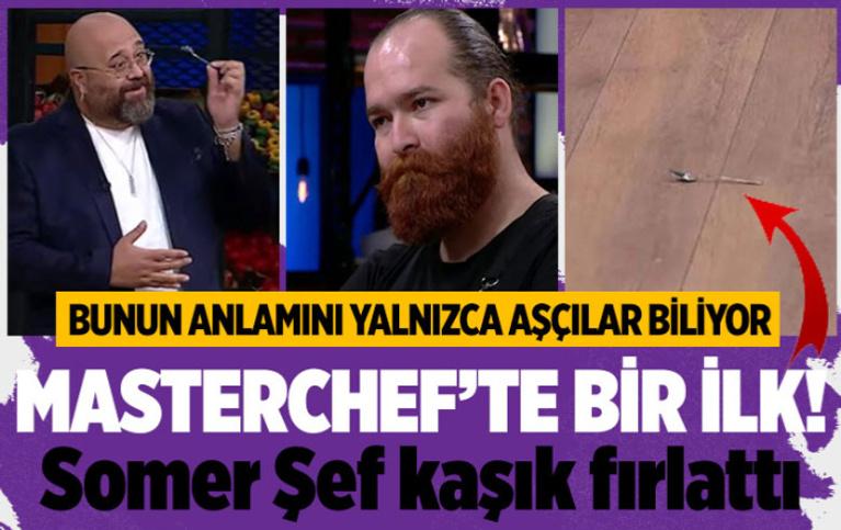 TV8 MasterChef son bölümde yarışma tarihinde Somer Şef'ten bir ilk!