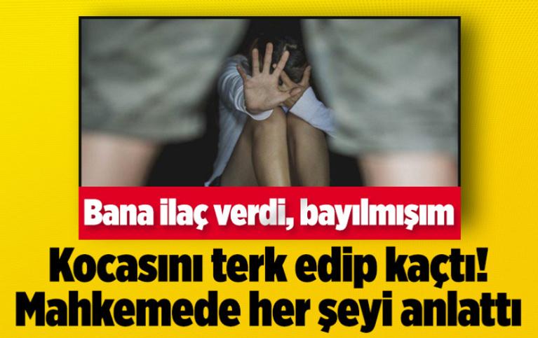 Zonguldak'ta kocasını terk edip kaçtı! Mahkemede her şeyi anlattı: Bayılmışım