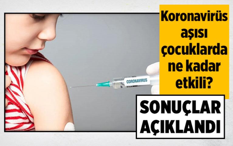 Pfizer/BioNTech koronavirüs aşısının 5-11 yaş grubunda etkinliği ne kadar?