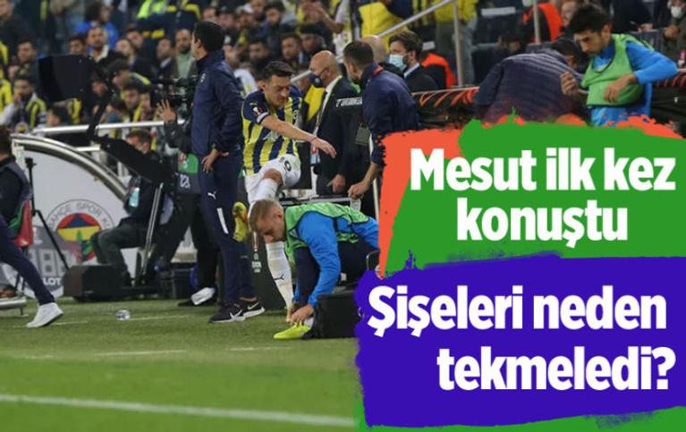 Antwerp maçının olay adamı Mesut Özil sessizliğini bozdu