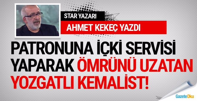 Ahmet Kekeç hangi gazeteciden söz ediyor?