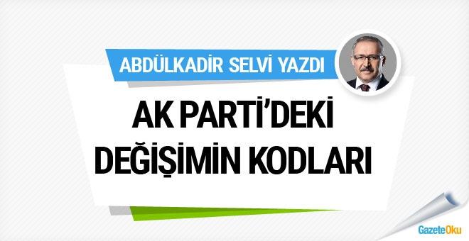 AK Parti'deki değişimin kodları