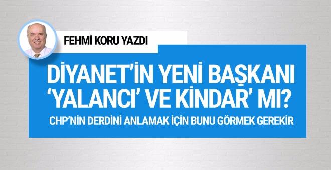 Fehmi Koru: Diyanet'in yeni başkanı 'yalancı' ve kindar' mı?